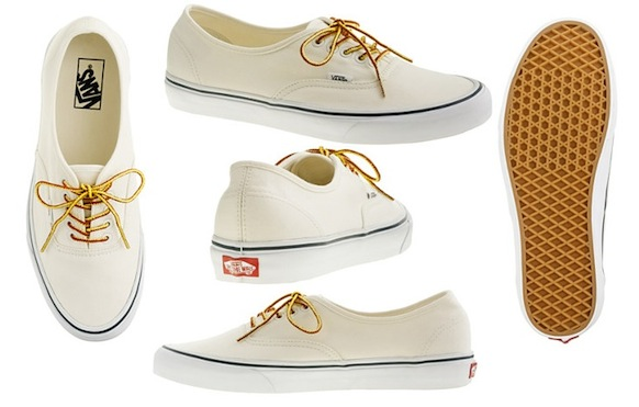 Canvas Authentic Sneakers by Vans for J. Crew