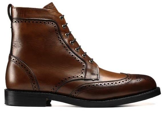 Dalton Wingtip Boots By Allen Edmonds