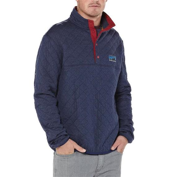 Diamond Quilt Snap T Pullover By Patagonia